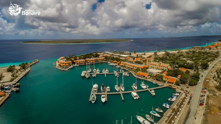 Bonaire from the Sea - Home